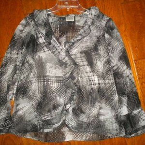 Chico's 2 (US Large) Women Blouse Top